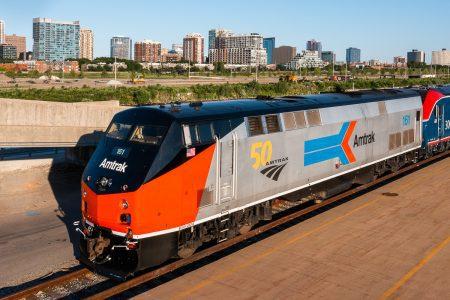 Amtrak P42 locomotive