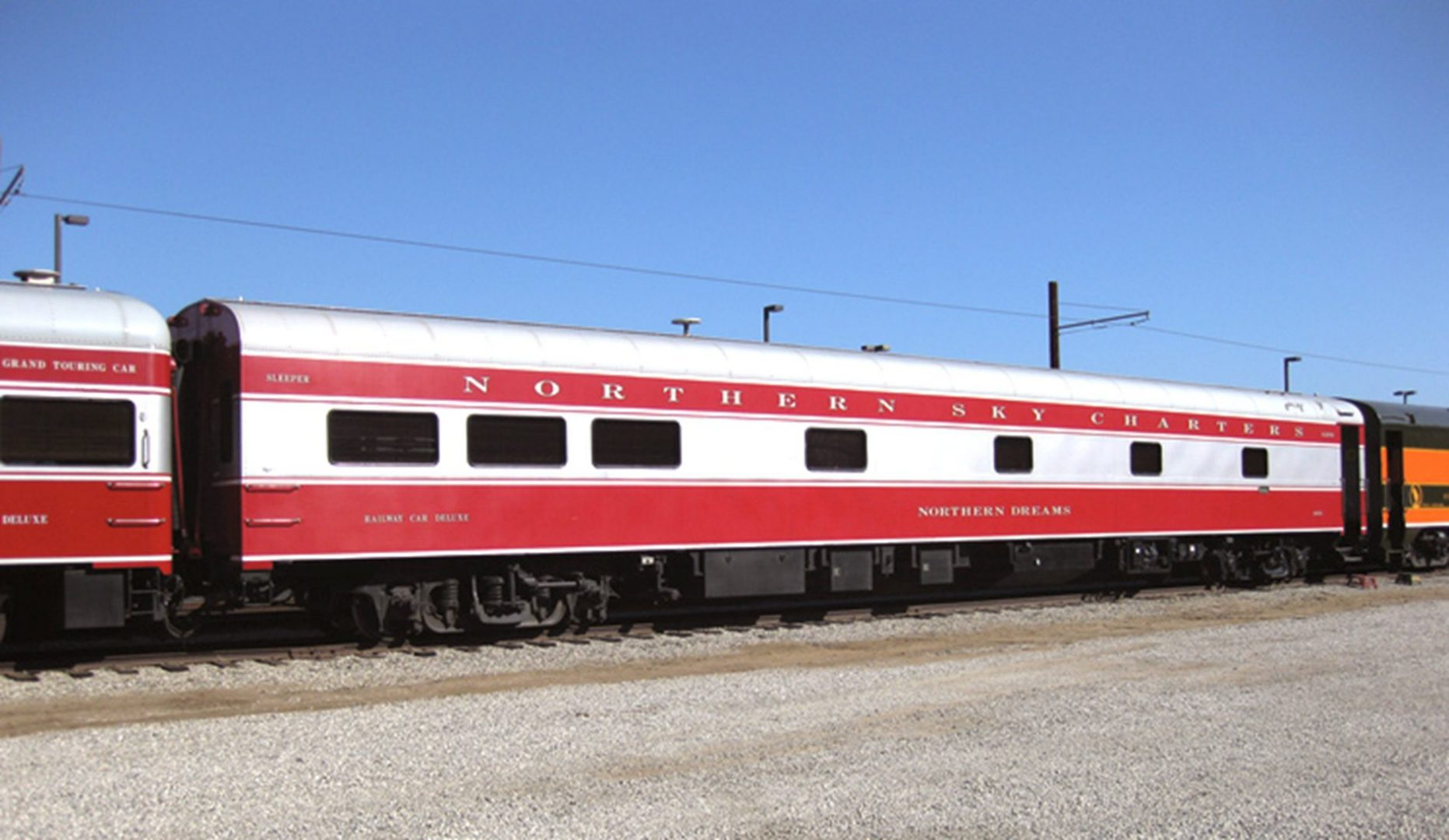 interior Tour historic Pullman-built rail cars on Grand Opening weekend banner image